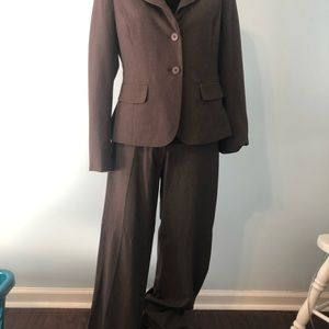 New York and Company Brown Suit